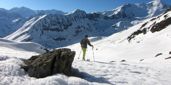 ... die Weißseespitze (3510 m).