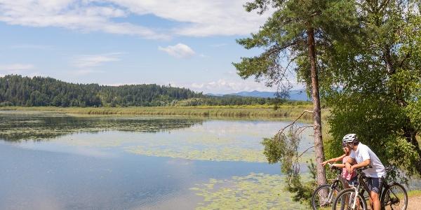 Kurze Pause am Gösselsdorfer See