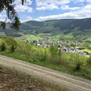 Blick auf Lennestadt-Saalhausen