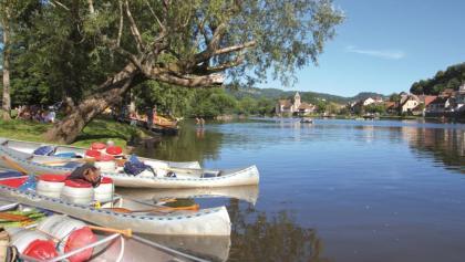 Geführte Kanutour Dordogne - Saga-Team Reisen