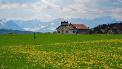 Reinthal mit Wetterstein-Panorama