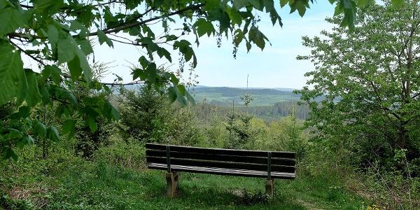 Blick nach Süden vom Rabenhain