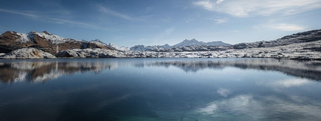 See auf der Grimsel Passhöhe