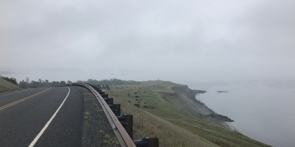 Road to Cattle Point Lighthouse