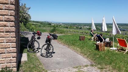 Ein schöner Aussichtspunkt nah Oppenheim