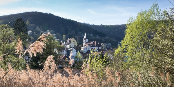 Blick auf Dernbach