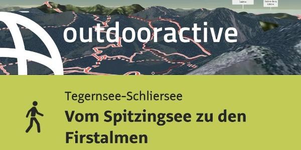 Wanderung in der Region Tegernsee-Schliersee: Vom Spitzingsee zu den Firstalmen