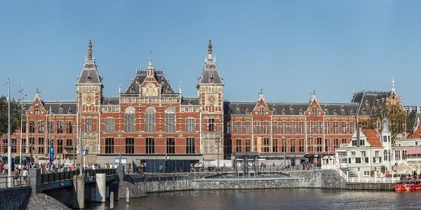 Startpunkt Bahnhof Amsterdam Centraal