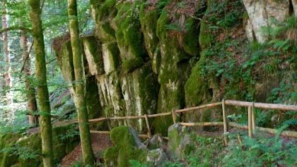 Gesicherter Weg zum Großen Wasserfall