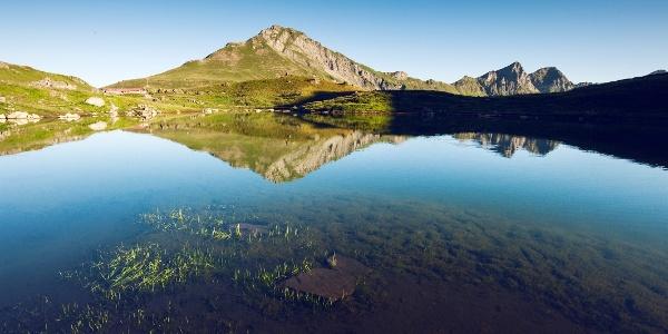 Lac Vert au-dessus de Champéry