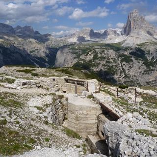 Kriegsanlagen am Monte Piana
