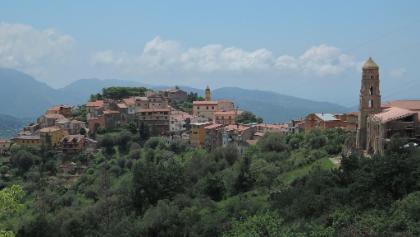 Panorama von Cuccaro Vetere