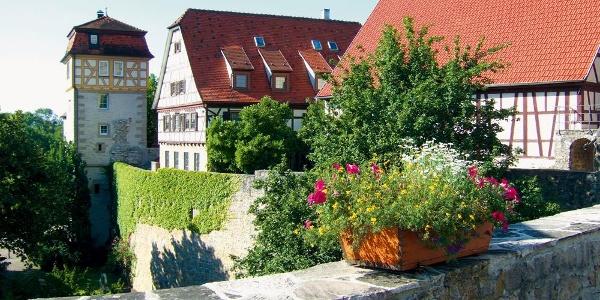 Vellberg mit Stadtturm und -mauer