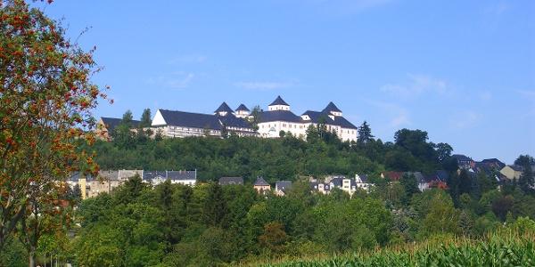 Schloss Augustusburg über dem Zschopautal