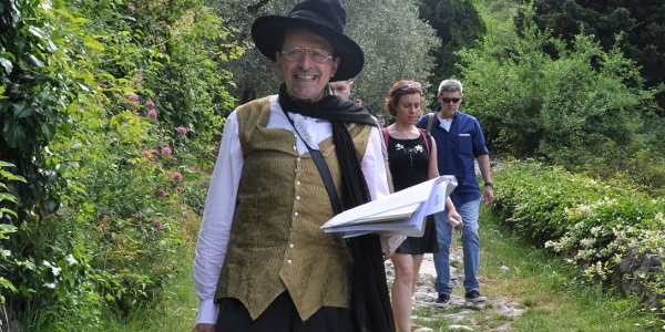 Following Goethe's footsteps with prof. Farina