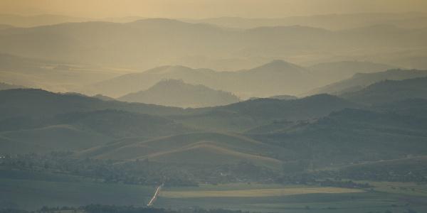 Észak-Magyarország dombjai (Petőfi-kilátó)