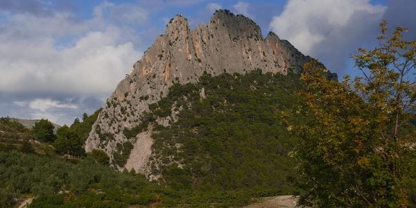 Südwand des Rocher St. Julien