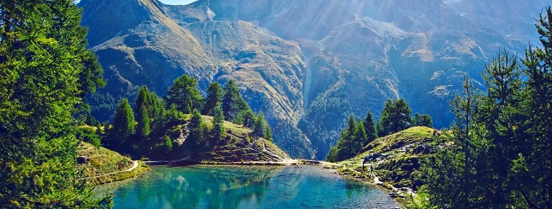Lac Bleu à Arolla