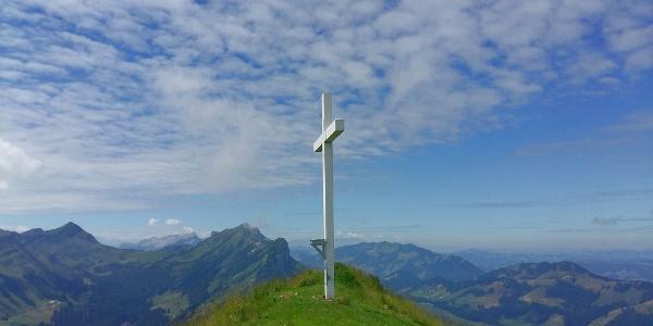Gipfelkreuz des Schimbrigs