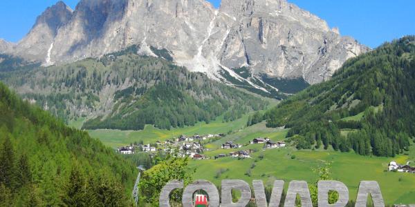 Der Startort Corvara