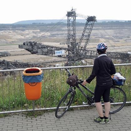 """Aussichtspunkt """"Inden"""" bei Lamersdorf"""