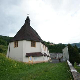 Horní město Jáchymov - Špitální kostel Všech svatých