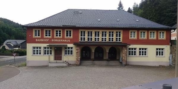 Bahnhof / Bürgerhaus Kipsdorf