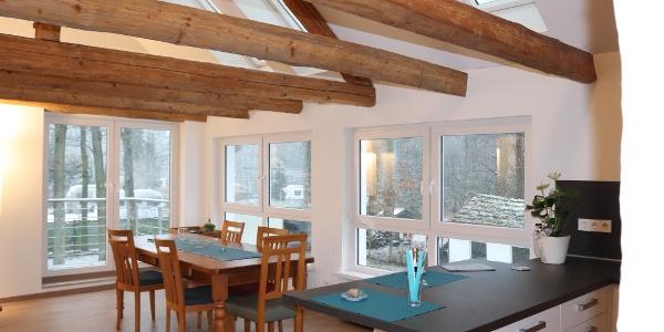 Komfort-Ferienwohnung - Essbereich