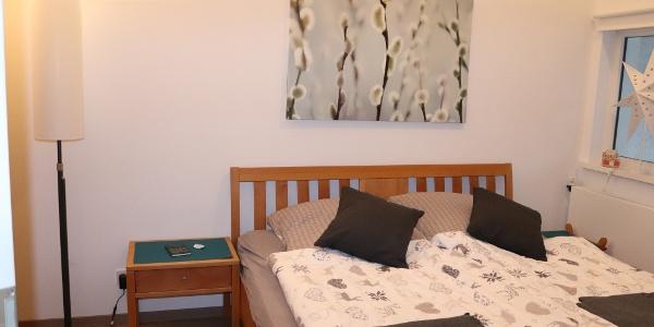 Komfort-Ferienwohnung - Schlafbereich