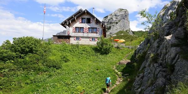 Die Lidernenhütte ist ein lohnendes Etappenziel