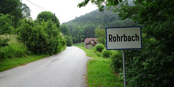 Ausgangspunkt Rohrbach