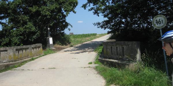 Vom Norfbach in die offene Landschaft