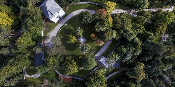 The Calvary Hill from above