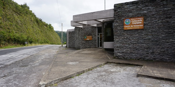 Cotacachi Cayapas Visitors Center, the start of your hike.