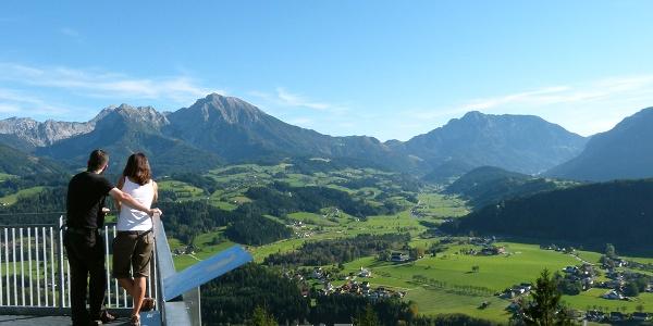 Wurbauerkogel, Panoramablicke