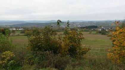 Richtung Scheibenberg