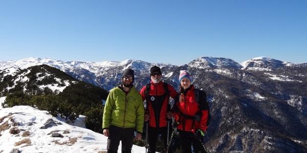 In cima al Monte Maggio