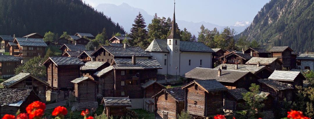 Blatten Dorf