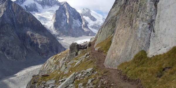 Weg zur Hütte