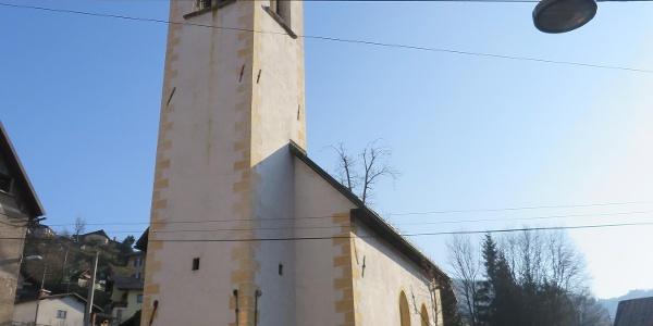 Kirche Sv. Antona, Kalvarienberg, Idrija