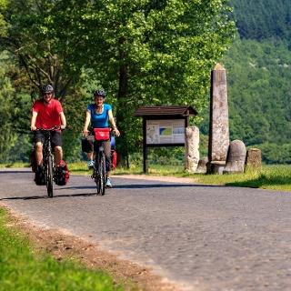 Radfahrer Via Belgica