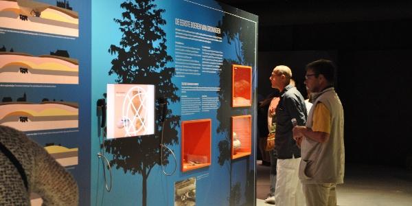 Geologie-Bereich im Museum