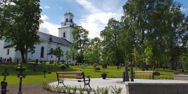 Forsa kyrka, från nordost
