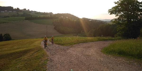 Auffahrt nach Bernhardsberg