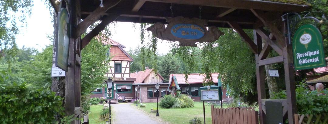 """Gaststätte """"Forsthaus Hübental"""""""