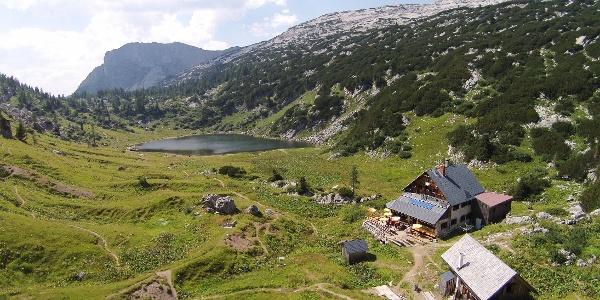 Pühringerhütte mit Elmsee