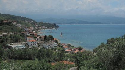 Küstenabschnitt bei Pioppi
