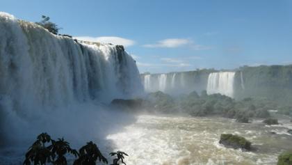 Die Iguazú-Wasserfälle