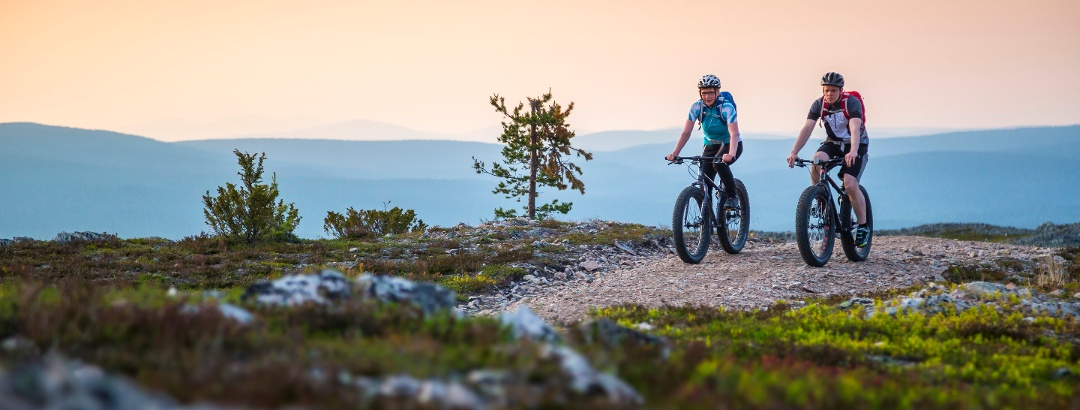 Mountain biking in Ylläs