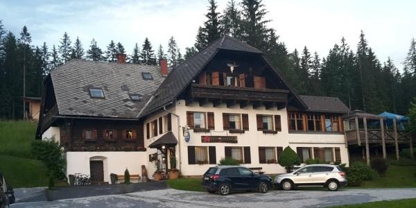 Alpengasthof Hoiswirt im Sommer